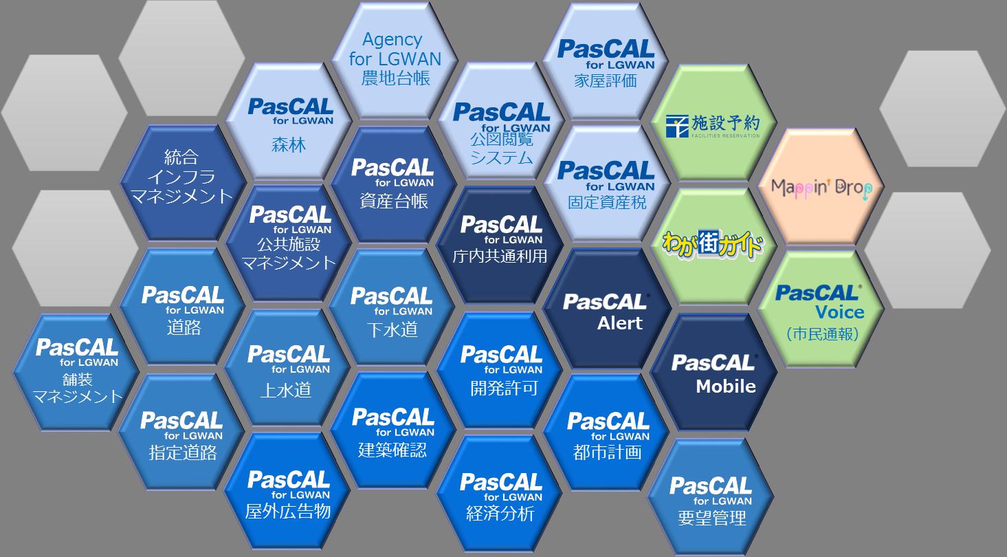 PasCAL for LGWANオプションサービスイメージ