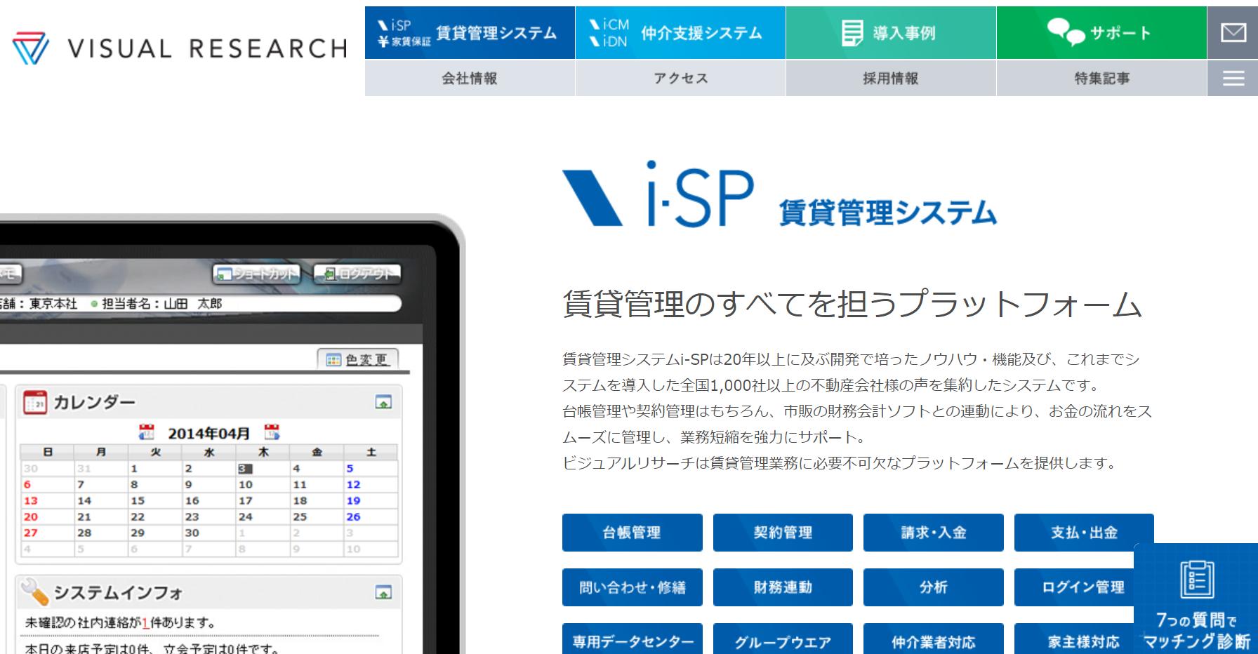 賃貸管理システムi-SP