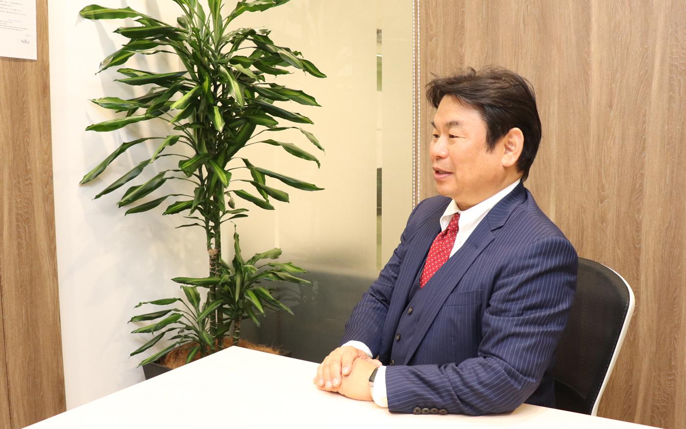 リーテックス 代表取締役 小倉隆志様