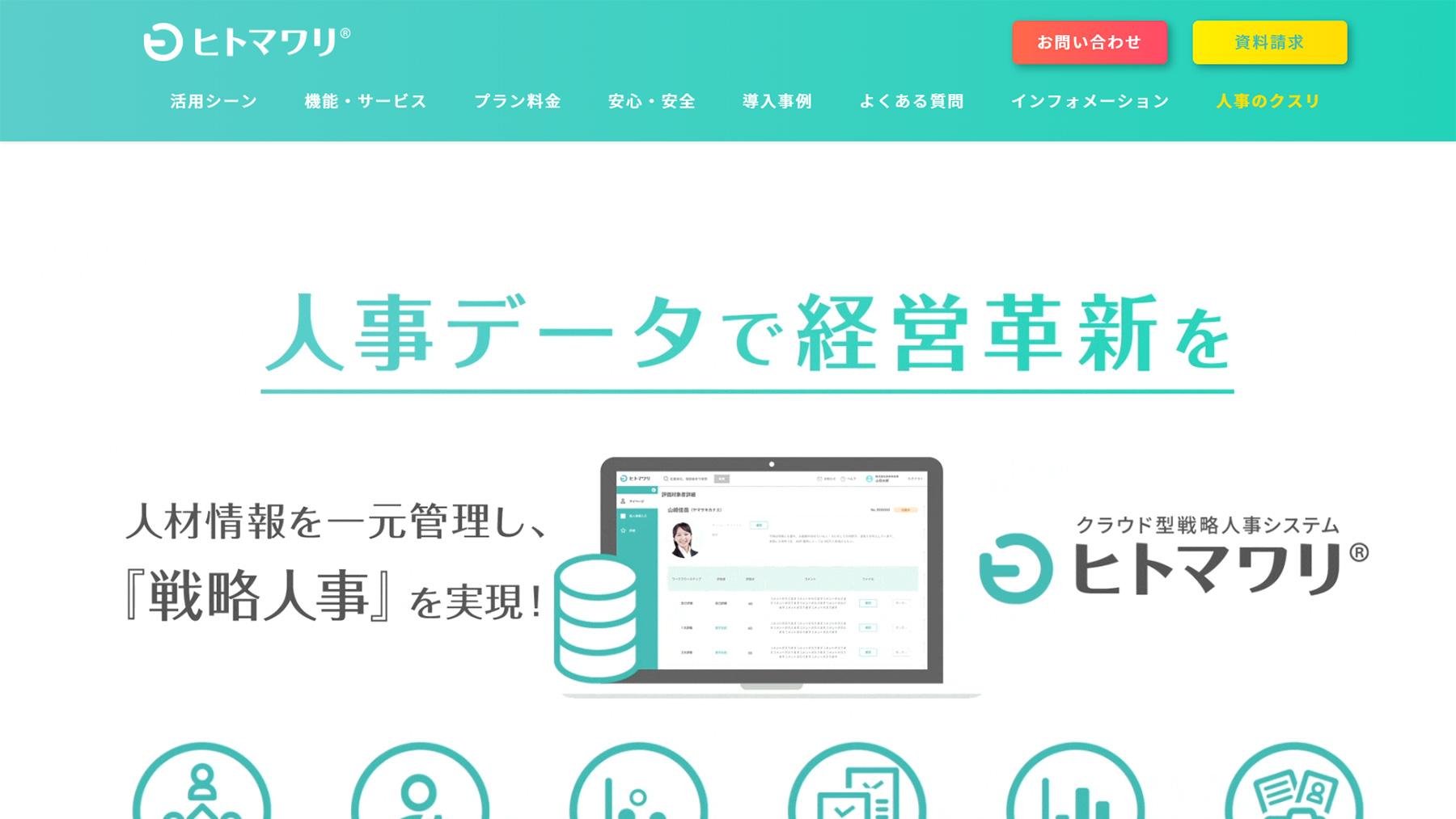 ヒトマワリ公式Webサイト